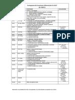 Cronograma Ecuaciones Diferenciales S22017