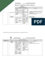 Competencias Criterios Evidencias DEF Liliana