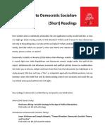 DSA Short Reading List Oct 2016
