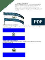 Banderas en Guatemala
