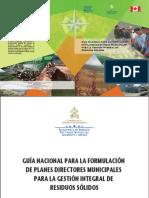 Guia Nacional Para La Formulacion de Planes Directores Municipales Para La Gestion Integral de Residuos Solidos