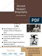 Ronald Reagan Biography
