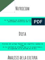 Analisis de La Cultura Alimentaria
