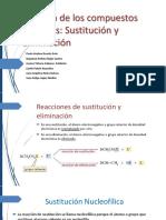 Diapositivas  Sustitucion Nucleofílica