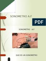 Sonometro Powerpoint