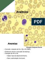 Anemia e Anemias Hipoprliferativas