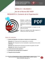 MÓDULO 4 B3. Requisito 4. Contexto de La Organización - IsO 45001