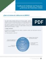 Catalogo UNSPSC