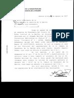 El pedido del Consejo de la Magistratura a la Corte Suprema para que tome el juramento al reemplazante de Ruperto Godoy