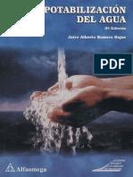 Potabilización Del Agua 3ed Alfaomega