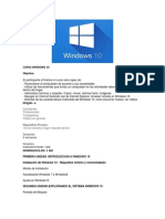 Curso Windows 10
