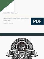 Recon2015 04 Jeffrey Crowell Julien Voisin Radare2 Building a New IDA