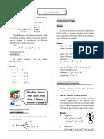 Algebra Factorizacion