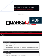 Recon2014 21 Mougey Camille Francis Gabriel DRM Obfuscation Versus Auxiliary Attacks Slides