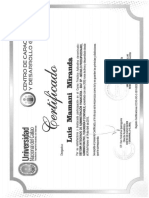 Certif SIAF Dllo Global UNC