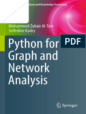 Pthon for Graph and Network analysis | Social Network