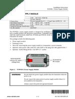 POWER-1 Installation Instructions