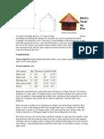 Bird House - nesting box.pdf