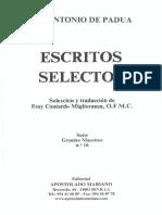 Sermones de San Antonio de Padua