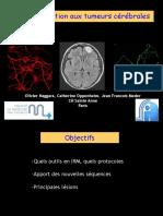 Intro aux tumeurs cérébrales