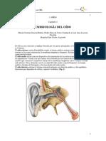 001 - Embriología Del Oído