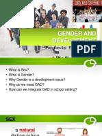 Gender and Development Report 2017