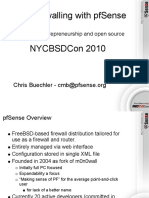 BSD Firewalling With PfSense NYCBSDCon 2010