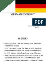 Tajo German Economy