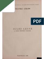 Radio Teatro Colón - Julio César 1968