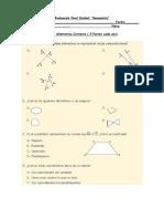 Evaluación Geometria 5 y 6