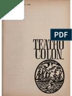 Radio Teatro Colón - Programa de Mano - Aurora 1965_0