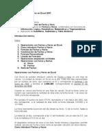 Modulo 5 Uso de Fechas y Horas en Excel V2007