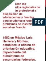 Historia de La Orientacion pedagogica