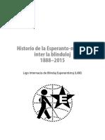 Historio de La Esperanto-movado Inter La Blinduloj