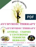 ANTIFAZ TERMICO NATURISTA Ayurvedic Therapy