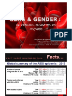 Sex and Gender in HIV