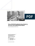 Cisco 12000 XR Troubleshoot