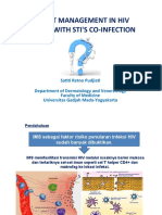 Management in HIV Person With STI's Co-Infection