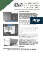 Nye Newsletter - August 2017