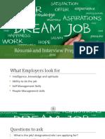 CV and Interview Skills 2017