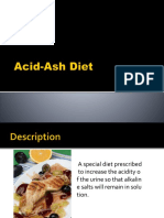 Acid-Ash Diet
