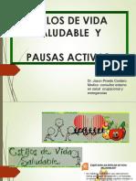 Estilos de Vida Saludable y Pausas Activas - Yuri