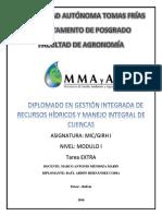DIPLOMADO EN GESTIÓN INTEGRADA DE RECURSOS HÍDRICOS Y MANEJO INTEGRAL DE CUENCAS