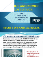 Riegos y Drenajes Agricolas
