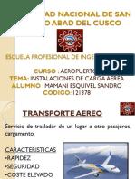 Instalaciones de Carga Aerea-Aeropuertos