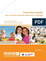Preventive Health How Much Does Australia Spend and is It Enough FINAL