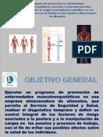 Programa de Prevención de Enfermedades Musculoesqueléticas Para Las Redes