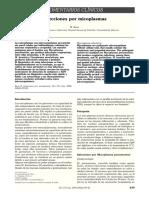 Infecciones por micoplasmas
