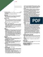 Sample Monograph