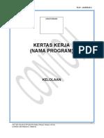 Pk19 - Lampiran 2 Format Kertas Kerja